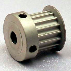 12 Tooth Timing Pulley, (Htd) 3mm Pitch, Clear Anodized Aluminum, 12-3m09-6ca2 - Min Qty 8
