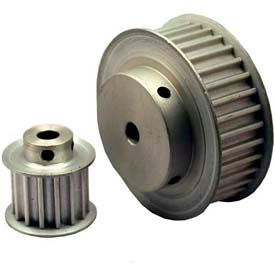12 Tooth Timing Pulley, (Htd) 5mm Pitch, Clear Anodized Aluminum, 12-5m15m6fa6 - Min Qty 8