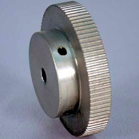 120 Tooth Timing Pulley, (Lt) 0.0816 Pitch, Clear Anodized Aluminum, 120lt187-6a4 - Min Qty 2