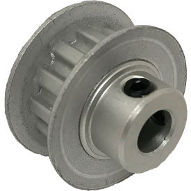 "12 Tooth Timing Pulley, (Xl) 1/5"" Pitch, Clear Anodized Aluminum, 12xl025-6fa3 - Min Qty 10"