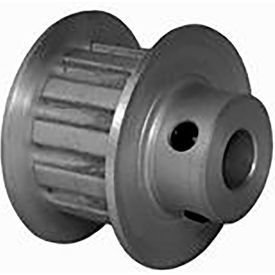 12 Tooth Timing Pulley, (Xl) 5.08mm Pitch, Clear Anodized Aluminum, 12xl037m6fa6 - Min Qty 8
