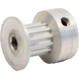 13 Tooth Timing Pulley, (Pwrgrip Gt) 2mm Pitch, Clear Anodized Aluminum, 13-2p06-6ca1 - Min Qty 8