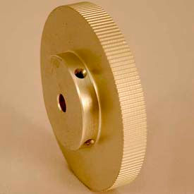 140 Tooth Timing Pulley, (Lt) 0.0816 Pitch, Clear Anodized Aluminum, 140lt312-6a5 - Min Qty 2