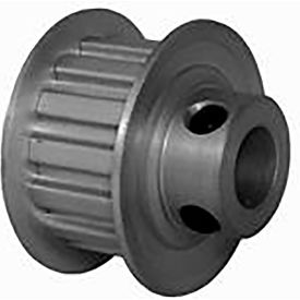 14 Tooth Timing Pulley, (Xl) 5.08mm Pitch, Clear Anodized Aluminum, 14xl037m6fa8 - Min Qty 8