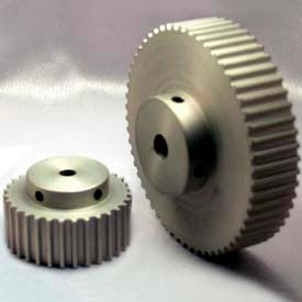 15 Tooth Timing Pulley, (Htd) 5mm Pitch, Clear Anodized Aluminum, 15-5m15-6a3 - Min Qty 8