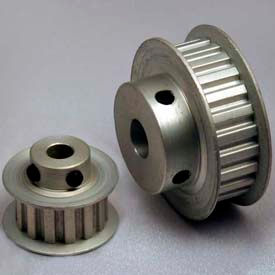 """15 Tooth Timing Pulley, (Xl) 1/5"""" Pitch, Clear Anodized Aluminum, 15xl037-6fa5 - Min Qty 10"""