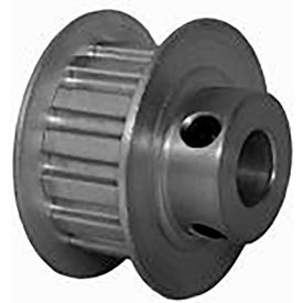 15 Tooth Timing Pulley, (Xl) 5.08mm Pitch, Clear Anodized Aluminum, 15xl037m6fa8 - Min Qty 8