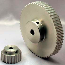 16 Tooth Timing Pulley, (Htd) 5mm Pitch, Clear Anodized Aluminum, 16-5m09-6a3 - Min Qty 8