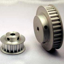 16 Tooth Timing Pulley, (Htd) 5mm Pitch, Clear Anodized Aluminum, 16-5m09-6fa3 - Min Qty 8