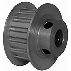 16 Tooth Timing Pulley, (Xl) 5.08mm Pitch, Clear Anodized Aluminum, 16xl037m6fa8 - Min Qty 8