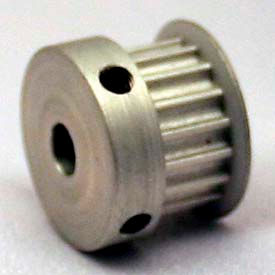 18 Tooth Timing Pulley, (Pwrgrip Gt) 2mm Pitch, Clear Anodized Aluminum, 18-2p06-6ca3 - Min Qty 8