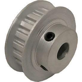 """18 Tooth Timing Pulley, (Xl) 1/5"""" Pitch, Clear Anodized Aluminum, 18xl025-6fa4 - Min Qty 8"""