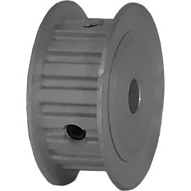 "18 Tooth Timing Pulley, (Xl) 1/5"" Pitch, Clear Anodized Aluminum, 18xl037-3fa3 - Min Qty 8"