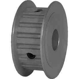 """18 Tooth Timing Pulley, (Xl) 1/5"""" Pitch, Clear Anodized Aluminum, 18xl037-3fa5 - Min Qty 8"""