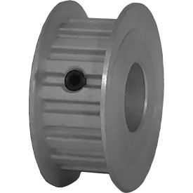 "18 Tooth Timing Pulley, (Xl) 1/5"" Pitch, Clear Anodized Aluminum, 18xl037-3fa6 - Min Qty 8"