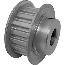 """18 Tooth Timing Pulley, (Xl) 1/5"""" Pitch, Clear Anodized Aluminum, 18xl037-6fa5 - Min Qty 8"""