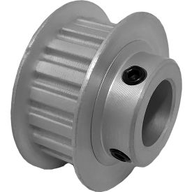 """18 Tooth Timing Pulley, (Xl) 1/5"""" Pitch, Clear Anodized Aluminum, 18xl037-6fa6 - Min Qty 8"""