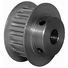 18 Tooth Timing Pulley, (Xl) 5.08mm Pitch, Clear Anodized Aluminum, 18xl037m6fa8 - Min Qty 8