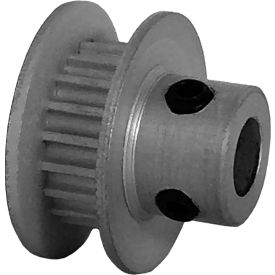 19 Tooth Timing Pulley, (Pwrgrip Gt) 2mm Pitch, Clear Anodized Aluminum, 19-2p03-6fa2 - Min Qty 8