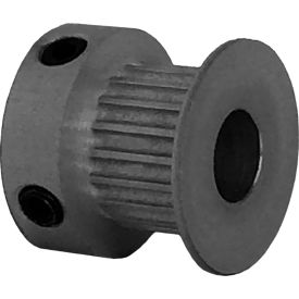 19 Tooth Timing Pulley, (Pwrgrip Gt) 2mm Pitch, Clear Anodized Aluminum, 19-2p06-6ca3 - Min Qty 8