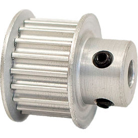 19 Tooth Timing Pulley, (Pwrgrip Gt) 3mm Pitch, Clear Anodized Aluminum, 19-3p09-6fa2 - Min Qty 8