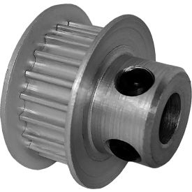 20 Tooth Timing Pulley, (Htd) 3mm Pitch, Clear Anodized Aluminum, 20-3m06-6fa3 - Min Qty 8