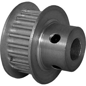 20 Tooth Timing Pulley, (Htd) 3mm Pitch, Clear Anodized Aluminum, 20-3m06m6fa6 - Min Qty 8