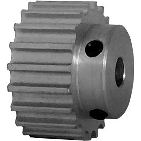 20 Tooth Timing Pulley, (Htd) 5mm Pitch, Clear Anodized Aluminum, 20-5m09-6a3 - Min Qty 8