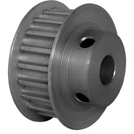 20 Tooth Timing Pulley, (Htd) 5mm Pitch, Clear Anodized Aluminum, 20-5m09m6fa8 - Min Qty 8