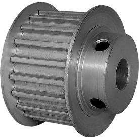 20 Tooth Timing Pulley, (Htd) 5mm Pitch, Clear Anodized Aluminum, 20-5m15m6fa8 - Min Qty 5