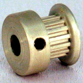 20 Tooth Timing Pulley, (Lt) 0.0816 Pitch, Clear Anodized Aluminum, 20lt187-6ca3 - Min Qty 5