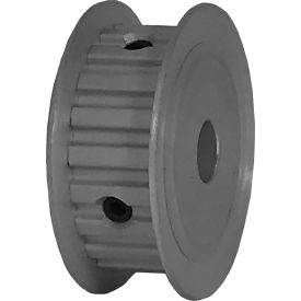 "20 Tooth Timing Pulley, (Xl) 1/5"" Pitch, Clear Anodized Aluminum, 20xl037-3fa4 - Min Qty 8"