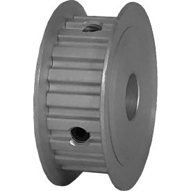 """20 Tooth Timing Pulley, (Xl) 1/5"""" Pitch, Clear Anodized Aluminum, 20xl037-3fa5 - Min Qty 8"""