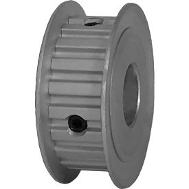 """20 Tooth Timing Pulley, (Xl) 1/5"""" Pitch, Clear Anodized Aluminum, 20xl037-3fa6 - Min Qty 8"""