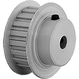 "20 Tooth Timing Pulley, (Xl) 1/5"" Pitch, Clear Anodized Aluminum, 20xl037-6fa3 - Min Qty 8"