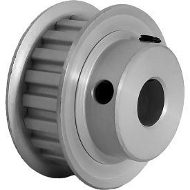 "20 Tooth Timing Pulley, (Xl) 1/5"" Pitch, Clear Anodized Aluminum, 20xl037-6fa5 - Min Qty 8"