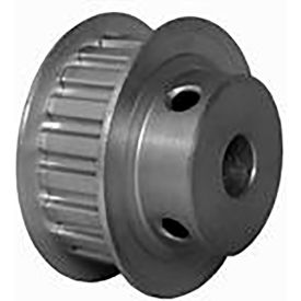 20 Tooth Timing Pulley, (Xl) 5.08mm Pitch, Clear Anodized Aluminum, 20xl037m6fa8 - Min Qty 5