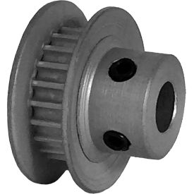 21 Tooth Timing Pulley, (Pwrgrip Gt) 2mm Pitch, Clear Anodized Aluminum, 21-2p03-6fa2 - Min Qty 8