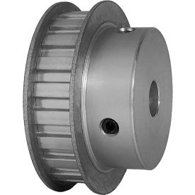 "21 Tooth Timing Pulley, (L) 3/8"" Pitch, Clear Anodized Aluminum, 21l050-6fa6 - Min Qty 3"