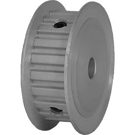 "21 Tooth Timing Pulley, (Xl) 1/5"" Pitch, Clear Anodized Aluminum, 21xl037-3fa3 - Min Qty 8"
