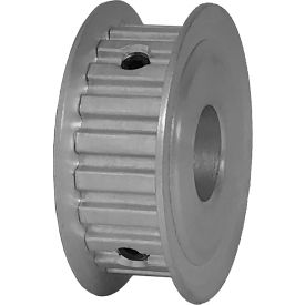 "21 Tooth Timing Pulley, (Xl) 1/5"" Pitch, Clear Anodized Aluminum, 21xl037-3fa6 - Min Qty 8"