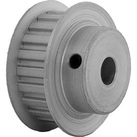 """21 Tooth Timing Pulley, (Xl) 1/5"""" Pitch, Clear Anodized Aluminum, 21xl037-6fa4 - Min Qty 8"""