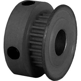 22 Tooth Timing Pulley, (Pwrgrip Gt) 2mm Pitch, Clear Anodized Aluminum, 22-2p03-6ca3 - Min Qty 8