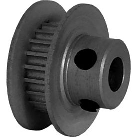 22 Tooth Timing Pulley, (Pwrgrip Gt) 2mm Pitch, Clear Anodized Aluminum, 22-2p03-6fa2 - Min Qty 8