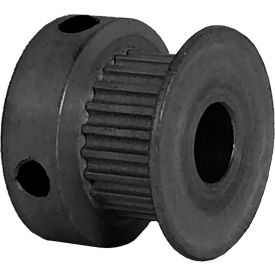 22 Tooth Timing Pulley, (Pwrgrip Gt) 2mm Pitch, Clear Anodized Aluminum, 22-2p06-6ca3 - Min Qty 8