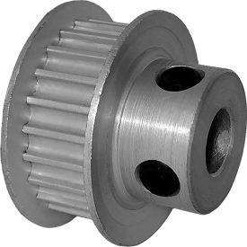 22 Tooth Timing Pulley, (Htd) 3mm Pitch, Clear Anodized Aluminum, 22-3m06-6fa3 - Min Qty 8