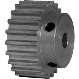22 Tooth Timing Pulley, (Htd) 5mm Pitch, Clear Anodized Aluminum, 22-5m09-6a3 - Min Qty 8