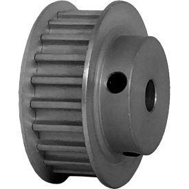 22 Tooth Timing Pulley, (Htd) 5mm Pitch, Clear Anodized Aluminum, 22-5m09-6fa3 - Min Qty 8