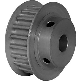 22 Tooth Timing Pulley, (Htd) 5mm Pitch, Clear Anodized Aluminum, 22-5m09m6fa8 - Min Qty 5