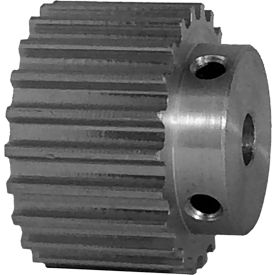 22 Tooth Timing Pulley, (Htd) 5mm Pitch, Clear Anodized Aluminum, 22-5m15-6a3 - Min Qty 8